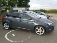 2014 Ford Focus 1.6 TDCi 115 Titanium Navigator 5dr ** £20 ROAD TAX ** HATCHBACK