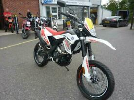 FB Mondial SMX125 Motard 2018 White 125cc Supermoto