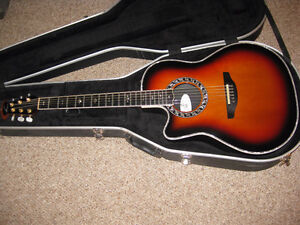 USA Made Left Handed Ovation 1779 Acoustic Guitar