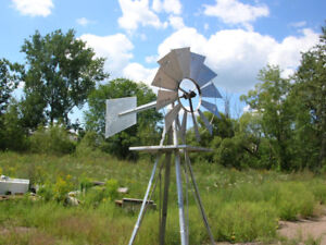9 FOOT DECORATIVE WIND MILL