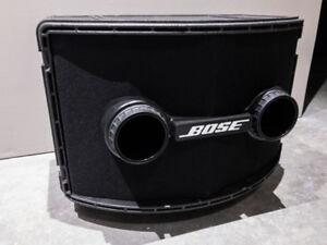 Bose 802 Series II + Controller + QSC Amp + Stands + Cables !!