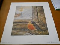 """""""Early Arrival Robin"""" Limited Edition Print"""
