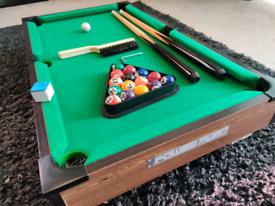 Mini 27inch Pool Table