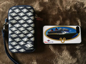 Disney Cruise Line iPhone 5 or 5 s  Case and Wristlet