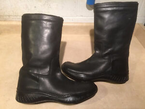 Men's Halogen Tall Leather Boots Size 13