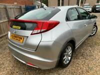 ✿2012/12 Honda Civic 2.2i-DTEC ES, Silver ✿TURBO DIESEL ✿GREAT SPEC✿