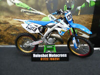 TM 125 motocross bike very clean example HGS pipe