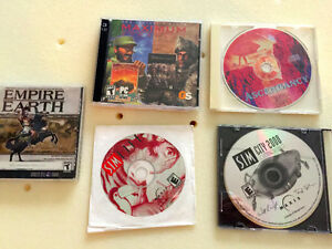 Various Vintage PC Games