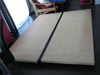 Base de lit basse