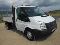 2014 FORD TRANSIIT TIPPER 350 MWB 1 Way 1 Sto[ 125ps