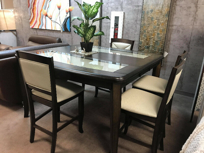 Counter Height Table With 4 Chairs For 1099