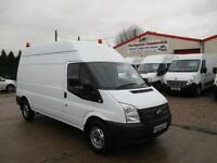62 reg FORD TRANSIT T350 LWB 2.2 TDCI 125PS WORKSHOP UTILITY VAN 6 SPEED GEARBOX