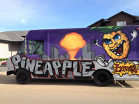 PINEAPPLE EXPRESS FOOD TRUCK Taking Bookings For 2016!