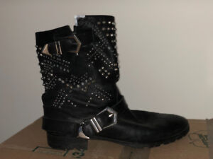 Zara boots real leather size 39