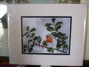 """Robert Bishop """"Waiting"""" Art Print Stratford Kitchener Area image 1"""
