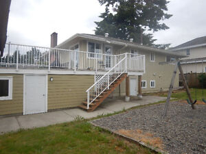 1 Bedroom + Living room Basement suite in Central Coquitlam