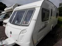 Swift Fairway 540 2009 4 Berth Fixed Bed Touring Caravan
