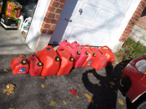 Gas Cans Fuel Containers $5 each