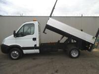 2010 IVECO DAILY 3.0 175 45 C15 10 FT 6 ALLOY TIPPER WITH TAIL LIFT**EX COUNCIL*