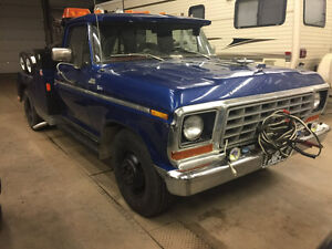 78-F350-tow truck, Trade for HD softail