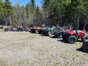 4 wheeler & dirtbike parts. Bikes are listed in description