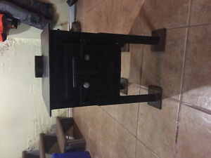 Bran new stove I built 16x14 great for smelt shack!!!!