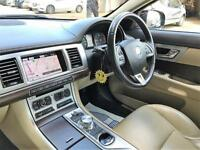 2012 Jaguar XF 2.2 TD Luxury 4dr Diesel black Automatic