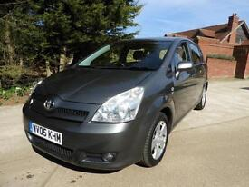 Toyota Verso 1.8 VVT-i T3 7 Seater 2 Previous Owners 77K From New FSH