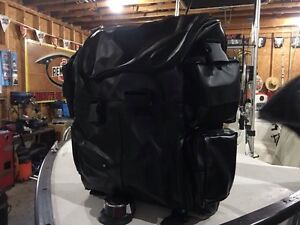 Motorcycle or snowmobile gear bags