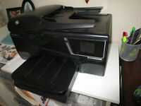 HP 6600 Printer/Scanner/Copier/Fax for Sale, ink included
