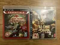 2 x PS3 games. Dead island and Alone in the Dark Inferno for PlayStation 3