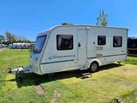 Bailey Discovery 5 Berth 2004 Caravan