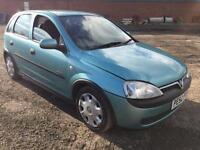 Vauxhall Corsa 1.2i 16v Elegance 5 DOOR - 2002 52-REG - 8 MONTHS MOT