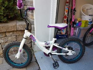 Vélo 14 pouces enfants