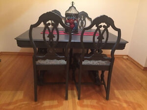 Elegant Antique Dining Set