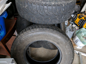 Good winter tires for truck/suv for sale $450