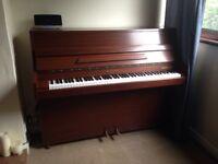 Barratt & Robinson solid wood upright piano