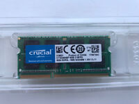 Crucial 8GB DDR3L-1600 SO-Dimm 204-pin