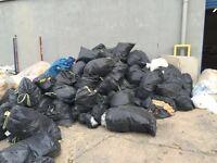 Junk rubbish waste removal skip tip alternative.