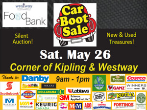 Car Boot Rummage Sale Sat. May 26 at Westway Christian Church