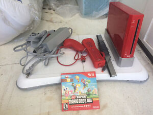 Limited edition red Wii for sale