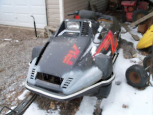 wanted snowmobiles for parts or repair