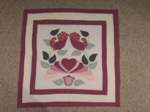 Country Bride Quilted Wall Hanging