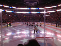 2x Montreal Habs vs Ottawa Senators April 24th 4 ROWS BEHIND NET