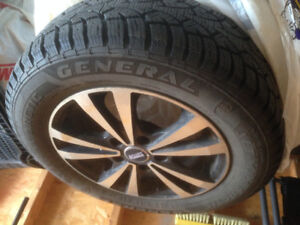 195/65 R15 Winter Tires w/ Rims - Great Condition!