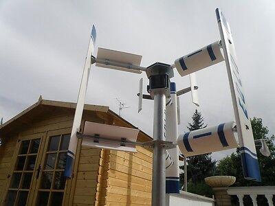 Vertical axis EOLO 3000 W Wind Turbine Generator hybrid Darrieus Savonius 3KW