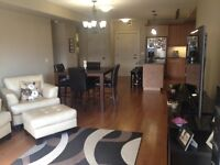 Gorgeous 2 bed + den condo for rent.