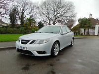 Magnificent 2008 Automatic Saab 9-3 1.9TTiD Diesel Superb Condition New MOT