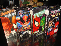 4X VHS-SPIDER MAN COLECTION