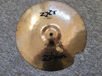 """Zildjian ZXT 16"""" Rock Crash - Cracked / Repaired"""